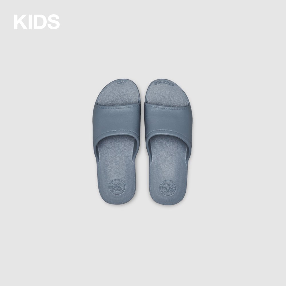 THE PLASTIC SHOES [GRAY] KIDS